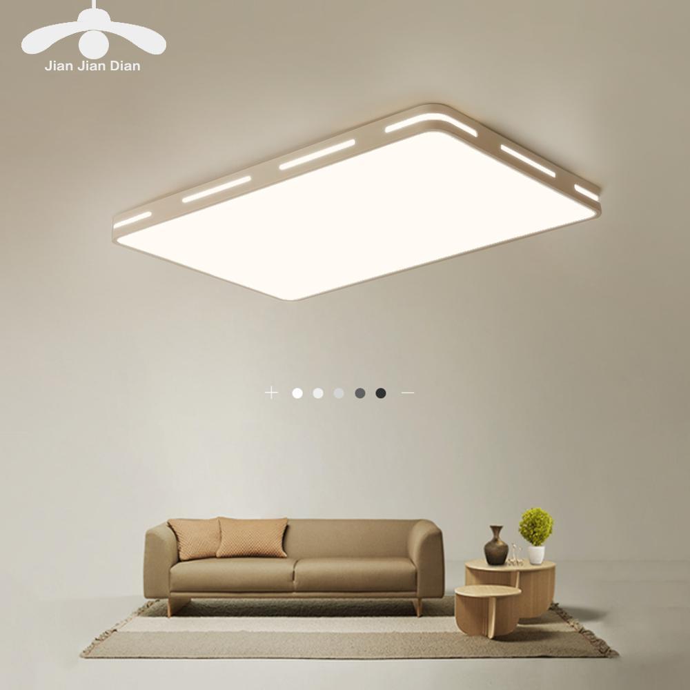 Lámpara de techo LED moderna, accesorios de decoración simples para estudio, comedor, dormitorio, sala de estar, balcón, lámpara de techo AC110v 220v