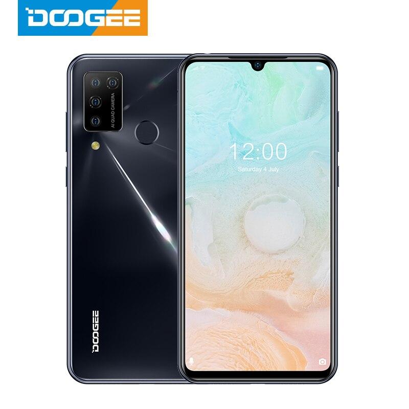 Перейти на Алиэкспресс и купить Новый DOOGEE N20 Pro Quad Камера Helio P60 Восьмиядерный мобильный телефон 6 ГБ Оперативная память 128 Гб Встроенная память глобальная версия 6,3 дюймFHD + безра...