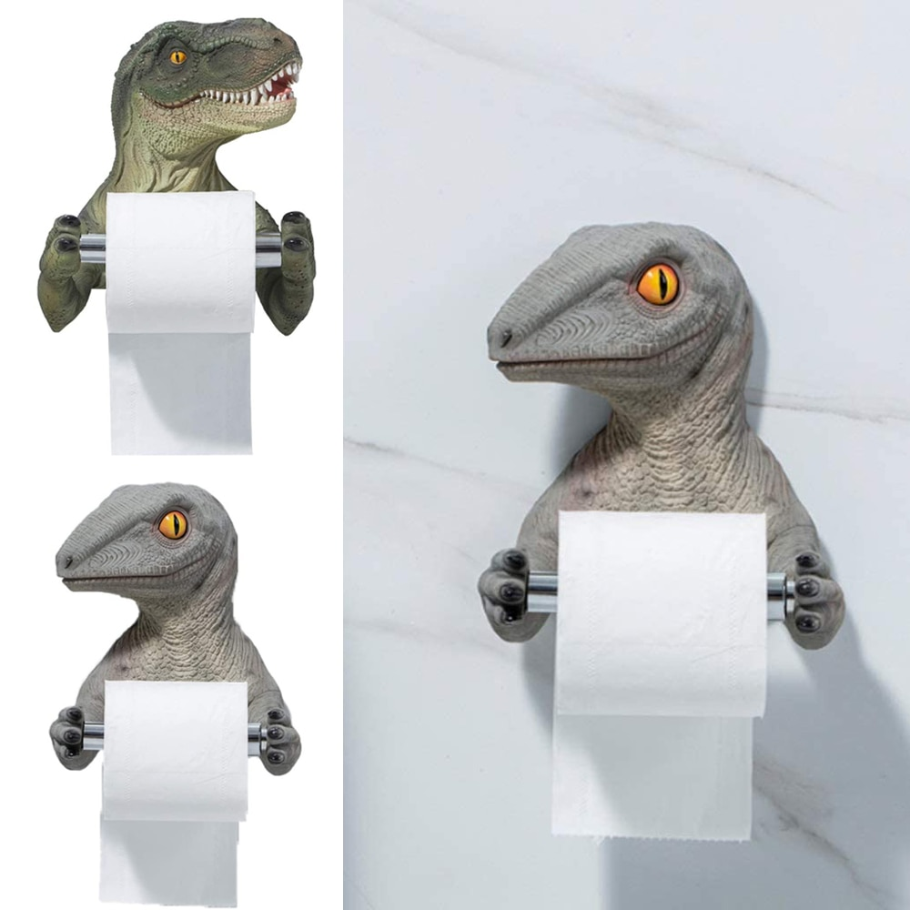 Caja De pañuelos De resina creativa, estante De pared De papel higiénico,...