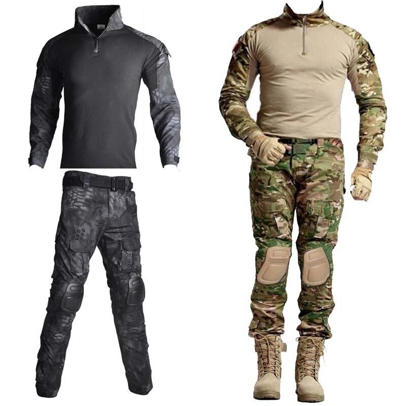 Тактические камуфляжные рубашки армии США в стиле милитари, униформа для страйкбола, рубашки с длинными рукавами, стремительные штурмовые ...