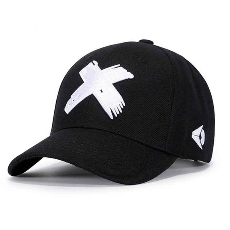 2021 Мужская зимняя демисезонная регулируемая бейсболка с вышивкой X Кепка для мужчин и женщин тактическая Снэпбэк Кепка