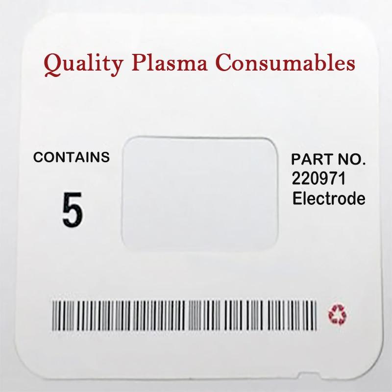 Справ. № 220971 WS, Расходные электроды для плазменной горелки 125A PKG/10