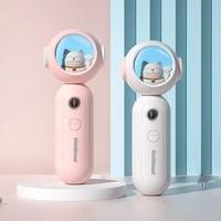 mini usb humidifier lucky cat rechargeable portable moisturizer nano anion facial moisturizing space cat humidifier