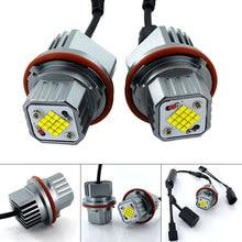 2x160w CANbus LED Angel Eyes Marker Licht Leuchtmittel weiß/Blau/Rot Für BMW E39 E53 e60 E61 E63 E64 E65 E66 E87 525i 530i 545i