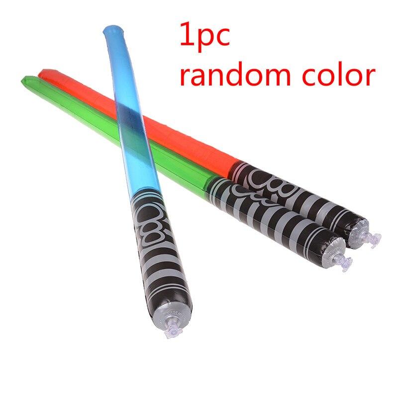 Juguetes espada de luz para niños espada de sable luminosa iluminada LED Barra de luz intermitente que brilla en la oscuridad Color al azar
