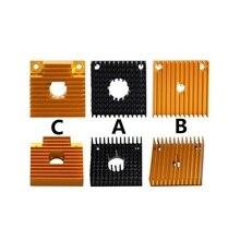 ميجا 10 قطعة طابعة ثلاثية الأبعاد MK7 MK8 الحرارة بالوعة برودة المبرد 40 مللي متر مربع أنبوب تدفئة من الألومنيوم سمك 11 مللي متر ل Makerbot الطارد
