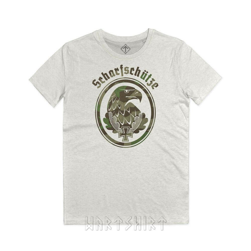 Insignia de Scelto de tirante de Maglietta, Wk2 Wehrmacht, camiseta Scharfschuetzen
