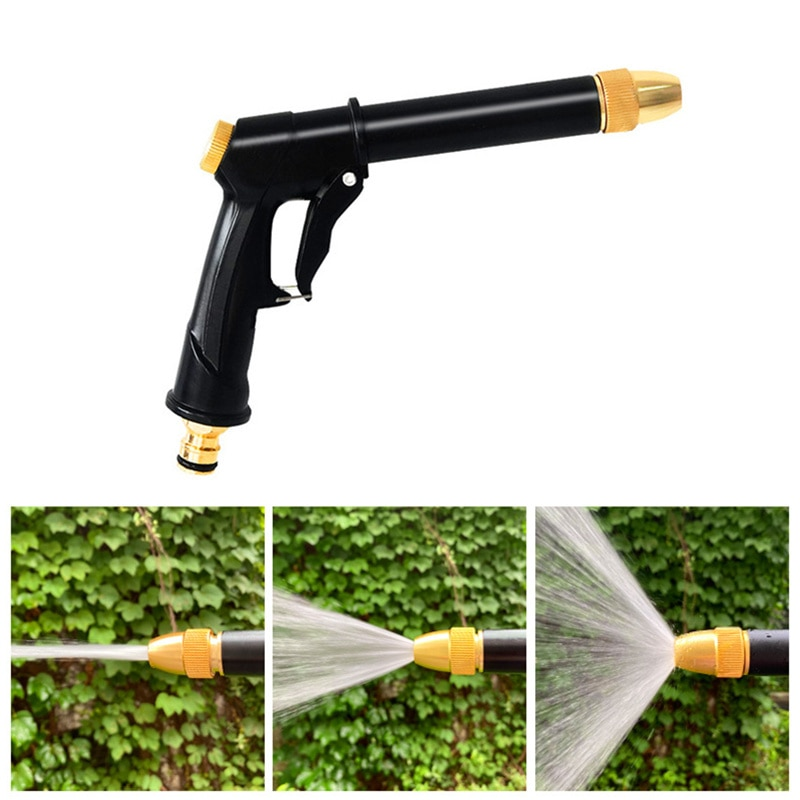 High Pressure Water Gun For Cleaning Car Wash Nozzle Portable Garden Plant  Watering Spray Gun Window Cleaner Auto Tools hot pole spray gun car wash watering multi function long handled high pressure water gun garden irrigation tools sprinkler
