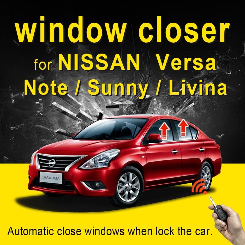 Car power window closer for Versa Sunny Livina Note automatic close windows intelligently Car Alarm Protector Car Accessories