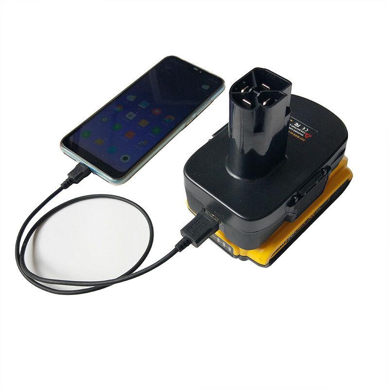 DVISI Dewalt DCB & Milwaukee M18 18 V/20 V (Max) литий-ионный аккумулятор для Craftsman 19,2 V адаптер DM18GL для электроинструмента craftman