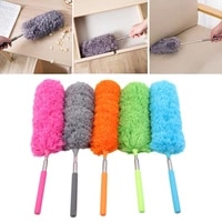 duster brush retractable adjustable dust cleaner anti dusting brush car microfiber colorful air condition furniture cleaning