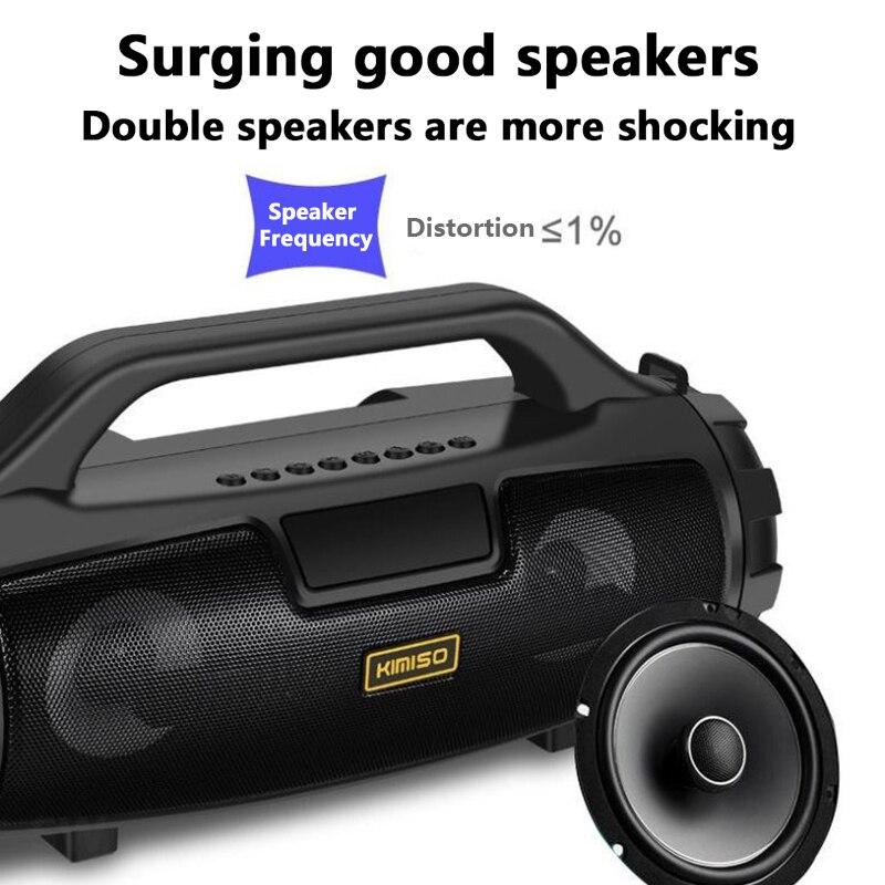 Column Music Center Portable Speaker Wireless Bluetooth Speaker 4D stereo Soundbar Outdoor Sports Waterproof System caixa de som enlarge