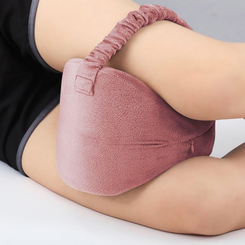 La rodilla de espuma de memoria almohada para dormir de la ciática pierna delgada de espalda, articulaciones de alivio del dolor contorno apoyo Dropshipping. Exclusivo. Almohadas
