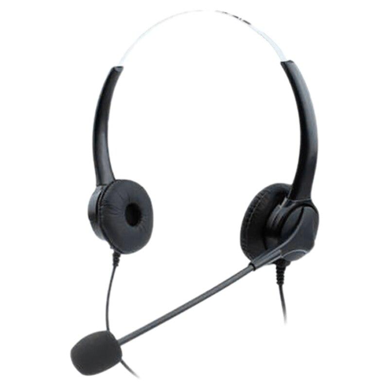 Auriculares de teléfono con centro de llamadas, auriculares USB con cancelación de ruido, auriculares con micrófono centro de llamadas para Skype y ordenador