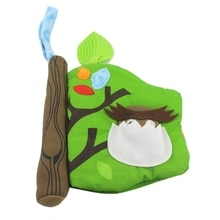 Newborn Baby Kids Soft Toys Animal Learning Educational Toys Cloth Book Gifts