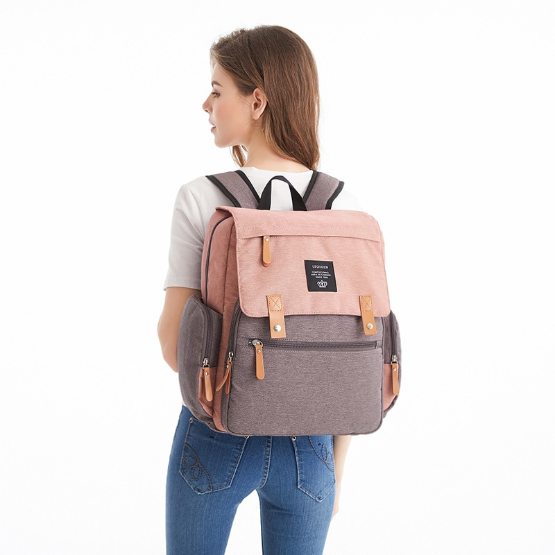 Diaper Mummy Baby Bag Backpack Multi-Function Large Capacity Maternal And Child Bag Pregnant Women