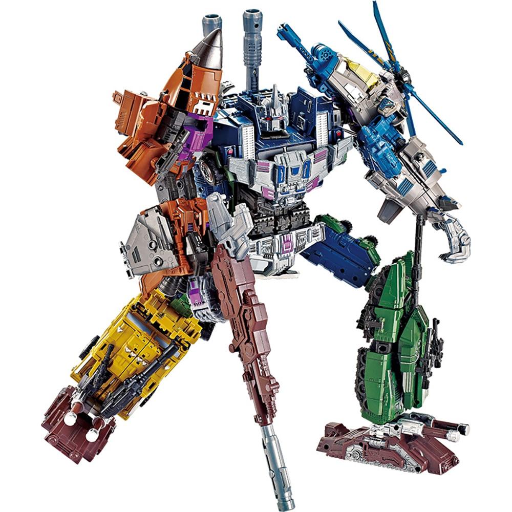 YX 91604 G1 трансформационная игрушка KO Bruticus 5в1 экшн-фильм фигурки модель ABS сплав 47 см натиск драка деформация автомобиль робот