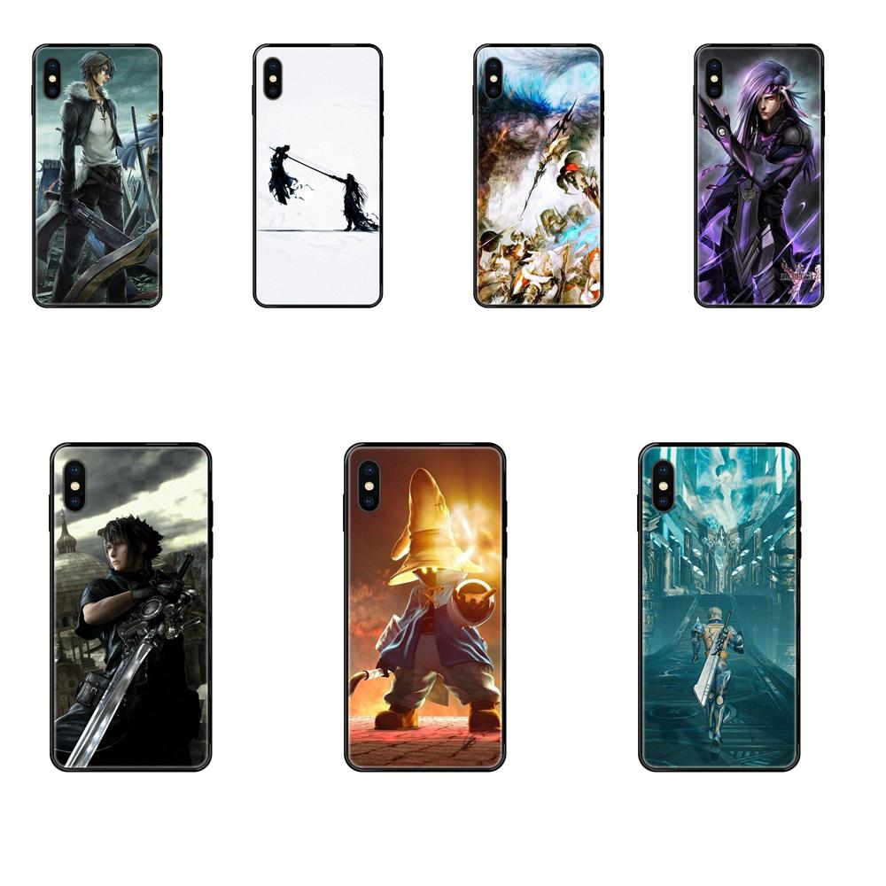 TPU Cover Final Fantasy Remake For Redmi 3S 4X 4A 5 5A 6 6A 7 7A 8 8A 8T 9 9A K20 K30 S2 Y2 Pro Plus Ultra