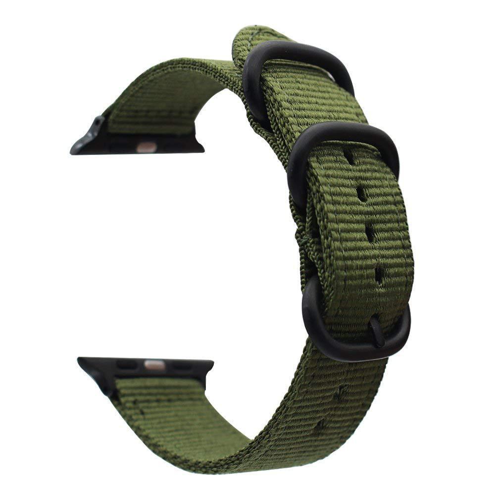 Correa de nailon para Apple Watch Series 1/2/3/4/5 correa de nailon accesorios Apple correa de reloj 38mm 40mm 42mm 44mm