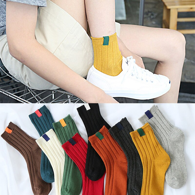 Модные женские носки, носки в полоску с животными, милые осенне-зимние стильные рождественские короткие носки для девочек, забавные носки, ...