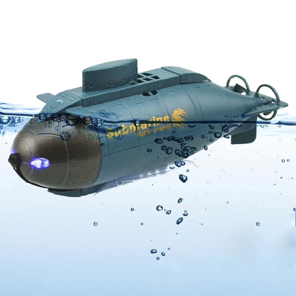 Barco de velocidad submarino RC, Mini juguete para niños, Control remoto, pez Torpedo, diseño Nuclear, Submarino, simulación, modelo regalo, juguete para niños
