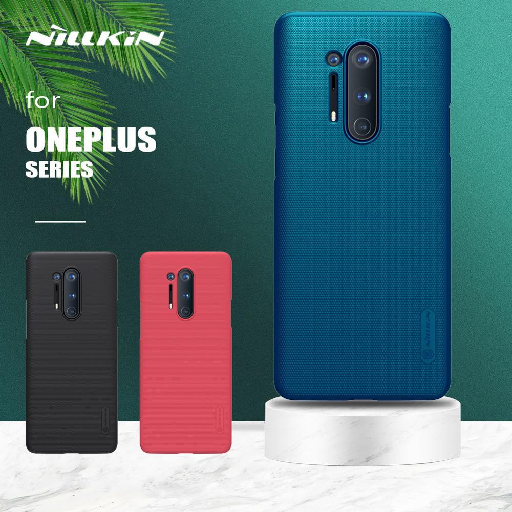 Nillkin – coque de protection arrière rigide, étui Super givré pour Oneplus 8 7T 7 Pro 6 6T 5 3 5T