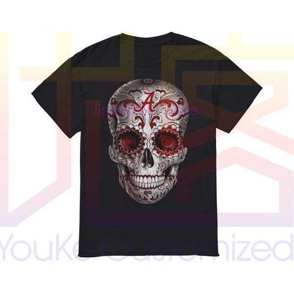 Camisa de marca para hombre Alabama Crimson Tide Sugar Skull