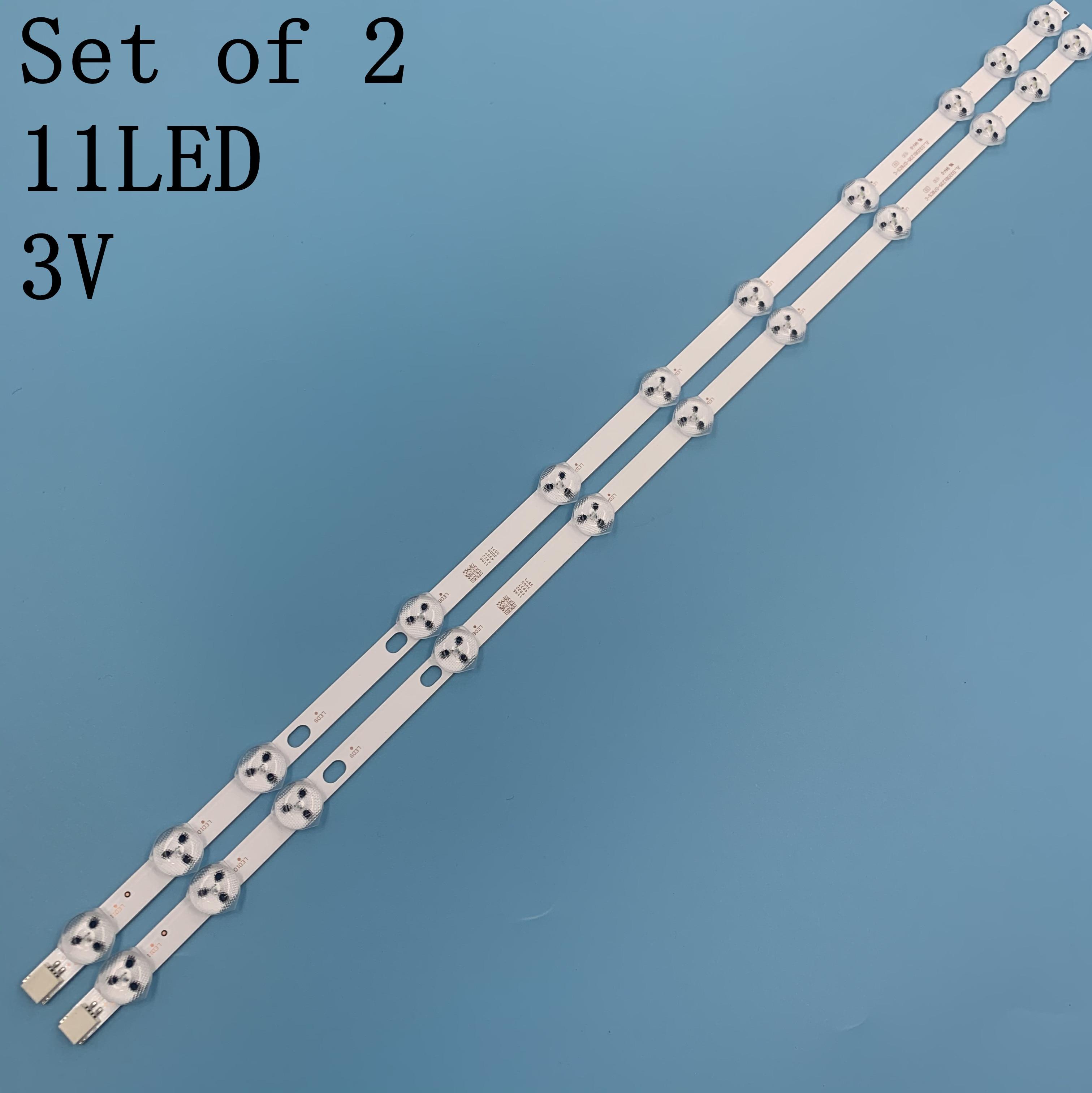 11 Lamps 575mm LED Backlight Strip For Selecline 32182 32285 32 inch Bars Kit Television LED Bands I