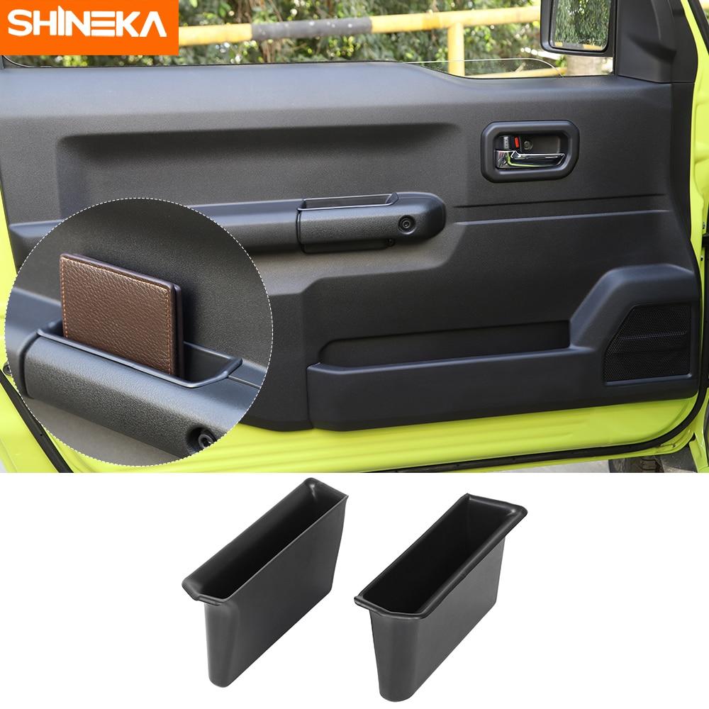 AliExpress - SHINEKA Stowing Tidying For Suzuki Jimny JB74 2019+ Car Door Armrest Storage Box Handle Pocket 2pcs protection For Suzuki Jimny