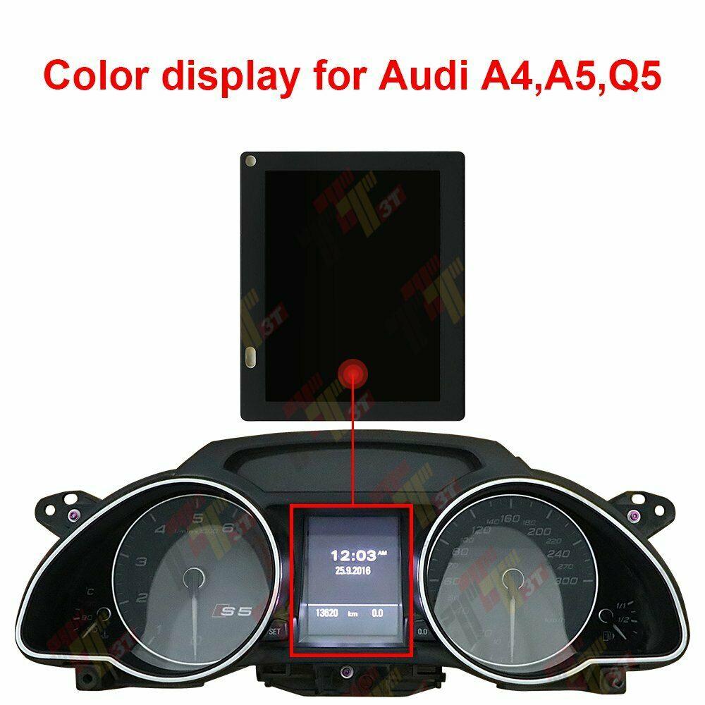 Pantalla LCD a Color para tablero de instrumentos Audi A4 A5 S5 Q5