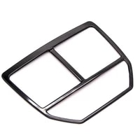 car air conditioning cover trim for peugeot 3008 5008 gt rear behind armrest box outlet stainless steel decoration