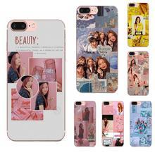Soft TPU Skin Painting Black Pink K-pop Blackpink Kpop For Samsung Galaxy A51 A71 A81 A90 5G A91 A01 S11 S11E S20 Plus Ultra