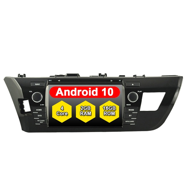 TOYOTA COROLLA/LEVIN 10.0 micro externe   ANDROID 2014, lecteur de DVD de voiture ANDROID inclus, GPS 2din Multimidia Central