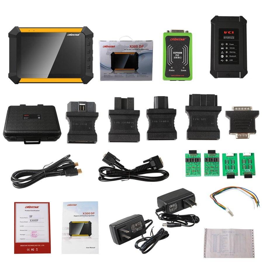 OBDSTAR X300 DP PAD Tablet programador clave estándar OBDII