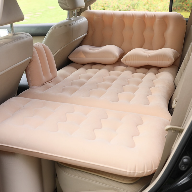 Colchón inflable para coche y Camping, Cama multifuncional, colchón De Aire plegable...