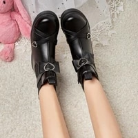 womens chelsea boots solid color bowknot thick soled waterproof snow boots comfortable lightweight outdoor womens boots 2021