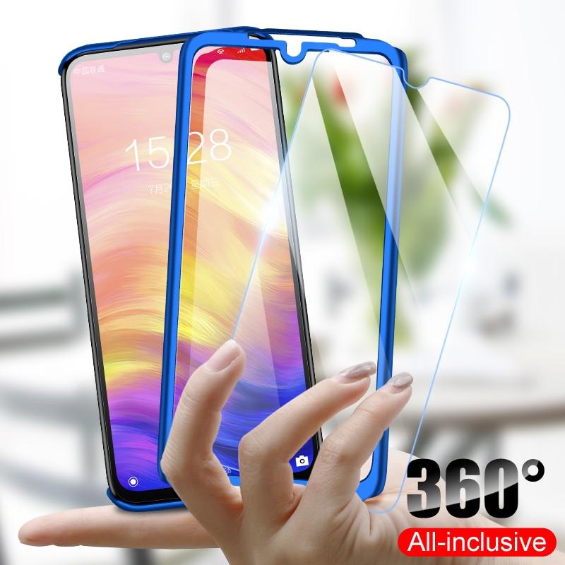 360 de lujo de la cubierta completa Funda de teléfono para Xiaomi Redmi Note 9 Pro 9 8 7 5 8T 6 K20 Pro Max Redmi 9C 9A 6A 7A 8A S2 fundas a prueba de golpes