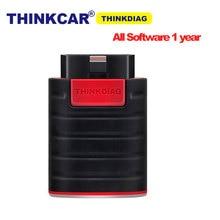 Thinkcar Thinkdiag полная конфигурация программного обеспечения 1 ГОД бесплатное обновление 15 сервисов Bluetooth Android IOS OBD2 сканер диагностический инструмент