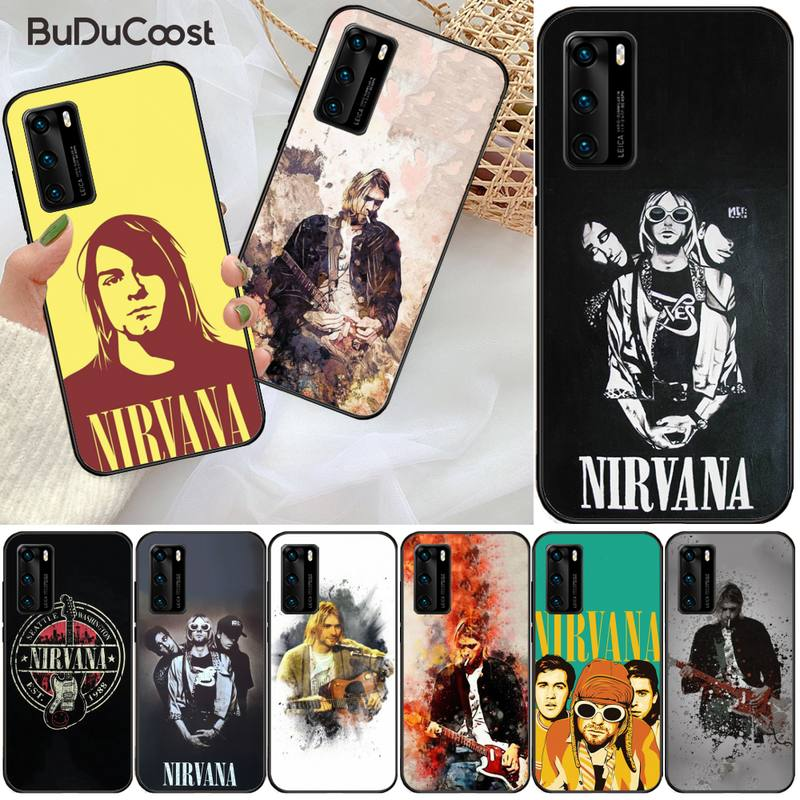 CUCI rock Nirvana, funda de teléfono de lujo DIY para Huawei P9 10 20 30 40 P Smart 20lite 2019 P30 lite Pro P9 lite 2017