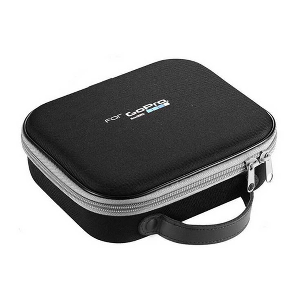 Para Gopro accesorios tamaño pequeño EVA bolsa de almacenamiento caja de almacenamiento para Gopro Hero7/6/5/4/3 + SJCAM SJ4000 Cámara de Acción