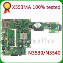 KEFU X553MA Pour ASUS X553MA x503m f553ma f553m Ordinateur Portable carte mère X553MA carte mère REV2.0 N3530/N3540 travail 100%