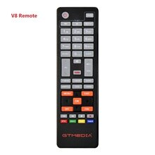Genuine]HD Satellite TV Receiver Remote Control for Gtmedia v8 UHD and freesat V7SHD V8 Series X8 CO