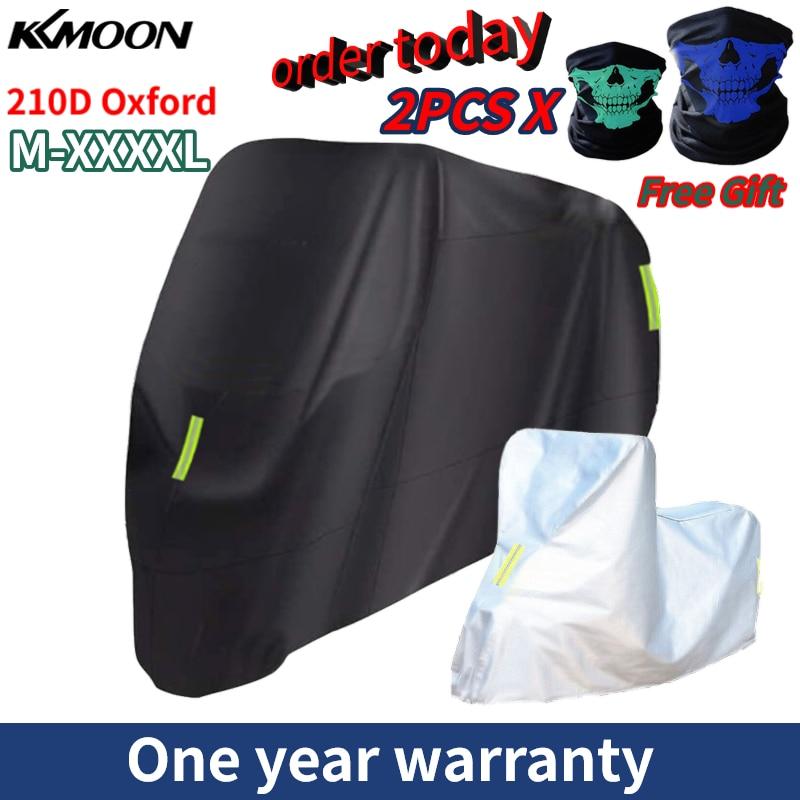 Motorcycle Cover  (M-XXXXL) Outdoor Protection 210D Oxford cloth Replacement for Honda/ Suzuki/Kawasaki/ Yamaha/ BMW