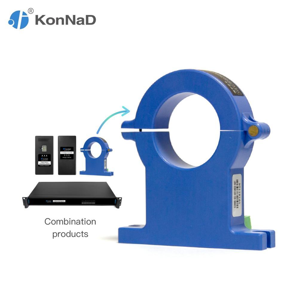 Sensor Hall DC 0-600A estándar Modbus RTU Modbus Sensor de corriente RS485 salida KonNaD
