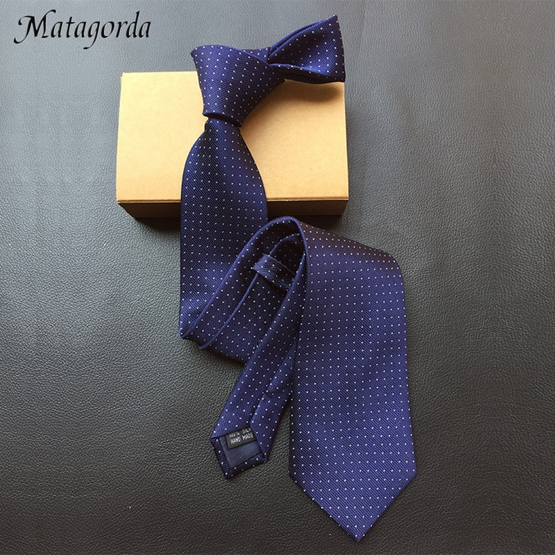 Matagorda Male Tie 8cm Silk Material Necktie Black&White Sky Stars Pattern Neckwear Men's Gravata Business Cravat Party Tie недорого