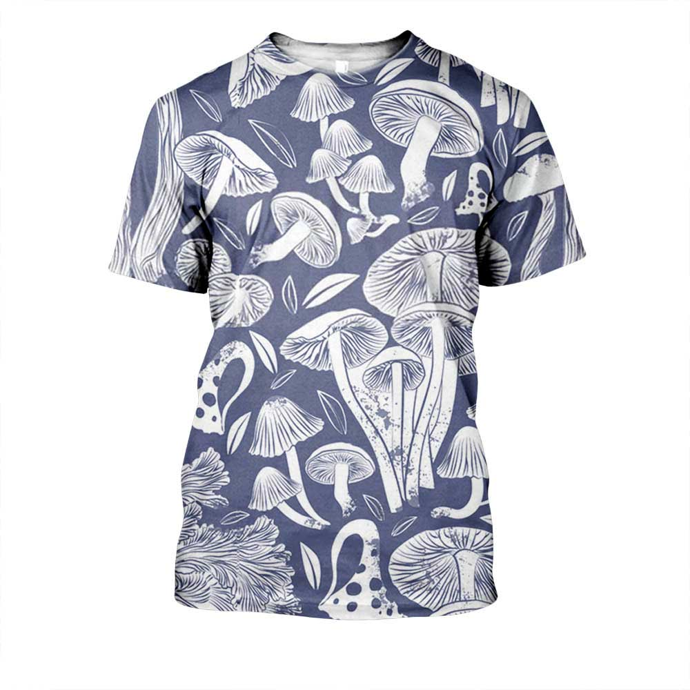 JUMEAST Funny Flower Summer 3D Men T-shirt Men's Short-sleeved 3D Round Neck Tops Men T shirt homme