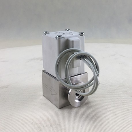 High vacuum electromagnetic block straight valves  - buy with discount