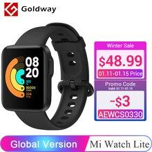 """글로벌 버전 Xiaomi Mi Watch Lite GPS 스마트 워치 1.4 """"디스플레이 Mi Band Fitness Traker 블루투스 스포츠 방수 Smartwatch"""