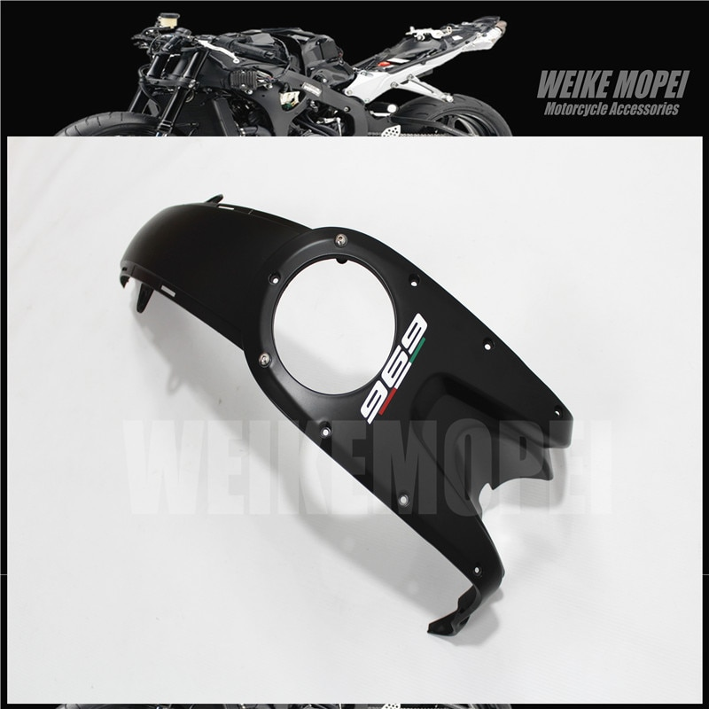 Matte Black Fairing Front Tank amid Cover Guard Trim Cowl Panel Fit For DUCATI Monster 696 796 1100 EVO