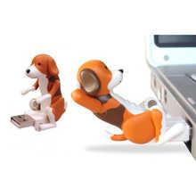 Портативный мини-флэш-накопитель USB 2,0, милая игрушка USB-флэш-накопитель для собак, снимает давление, для офисных работников, мультяшный USB-фл...